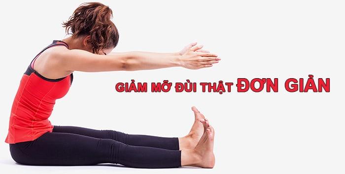 Hướng dẫn các cách giảm mỡ đùi nhanh và hiệu quả.
